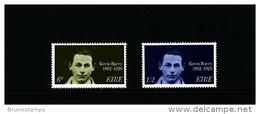 IRELAND/EIRE - 1970  KEVIN BARRY  SET  MINT NH - 1949-... Repubblica D'Irlanda