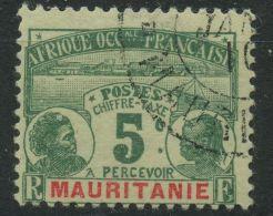 Mauritanie (1906) Taxe N 9 (o) - Mauritanie (1906-1944)