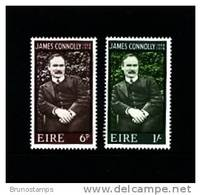 IRELAND/EIRE - 1968  JAMES CONNOLLY  SET MINT NH - 1949-... Repubblica D'Irlanda