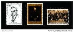 IRELAND/EIRE - 1991  ANNIVERSARIES  SET MINT NH - 1949-... Repubblica D'Irlanda