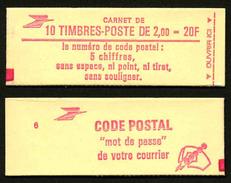 FRANCE - CARNET YT 2274-C2 - OUVERT - Confectionneuse 6 - Markenheftchen