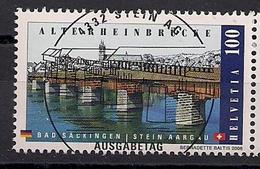 2008 Schweiz Mi. 2068 Used Alte Rheinbrücke Bad Säckingen-Stein/Aargau - Switzerland