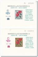 El Salvador 1961, Postfris MNH, Flowers ( 1 Sheet Has A Little Spot ) - El Salvador