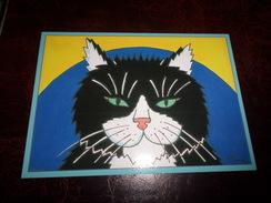 Carte Postale Illustrateur Patrick Hamm  Amour Félin N°32 Miaou - Hamm