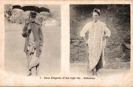 DAHOMEY DEUX ELEGANTS OF THE HIGH LIFE - Dahomey
