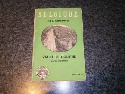 GUIDE DES ARDENNES BELGES La Vallée De L´ Ourthe Cosyn Régionalisme Tourisme Durbuy Nadrin Hamoir Barvaux Esneux Hamoir - Cultura