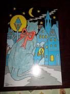 Carte Postale Illustrateur Patrick Hamm  Amour Félin N°7 Rèverie - Hamm