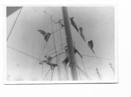 FOTO COLONIE - ADEN IL PORTOROSE INALBERA IL NOMINATIVO    - BAIDOA LUGLIO 1950  -- - Guerra, Militari
