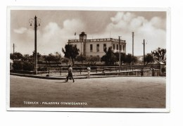 TOBRUCK - PALAZZINA COMMISARIATO  VIAGGIATA FP - Libya