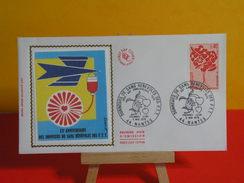 FDC > 1970-1979 > Donneurs De Sang Bénévoles Des P.T.T - 44 Nantes - 5.5.1972 - 1er Jour. Coté 2 € - FDC