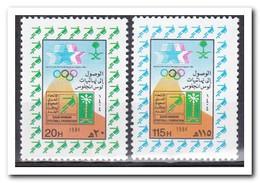 Saoedi Arabië 1984, Postfris MNH, Olympic Games, Football - Saoedi-Arabië
