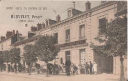 60  Creil  Hotel Du Chemin De Fer - Creil