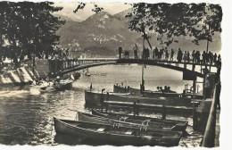 Cpsm 74 Annecy, MARLIOZ, Le Pont Des Amours, Petit Format, 1959 - France