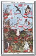 Liberia 1993, Postfris MNH , Birds - Liberia
