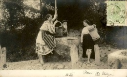 ROUMANIE - Carte Postale De Falciu , La Remontée De L 'eau Du Puits En Musique Au Début 1900 - A Voir - L 5199 - Roumanie