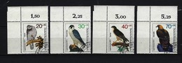 BERLIN - Komplettsatz Mi-Nr. 442 - 445 Linke Obere Ecke Greifvögel Gestempelt - Gebraucht