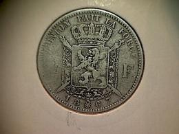 Belgique 2 Francs 1867 FR - 1865-1909: Leopold II