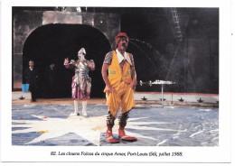 CIRQUE - Les Clowns FOLCOS Du Cirque Amar - Port-Louis - Juillet 1988 - Zirkus