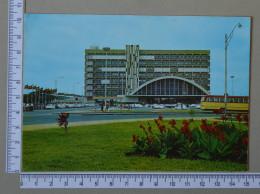 MOÇAMBIQUE    - ESTAÇÃO DE CAMINHO DE FERRO - BEIRA   - 2 SCANS - (Nº16748) - Mozambique