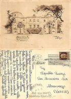 Migliarino Pisano - Villa Salviati ANNO 1935 ILLUSTRATA FIRMATA (A-L 462) - Pisa