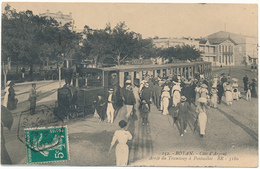 ROYAN - Arrèt Du Tramway De Pontaillac - Royan