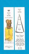 Cartes Parfumées Carte  EAU DU SOIR De SISLEY EDP RECTO VERSO PLUS FONCÉE - Modern (from 1961)