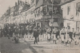 25 BESANCON FETE DES 13 14 ET 15 AOUT  1910 LES SOCIETES DE GYMNASTIQUE - Besancon