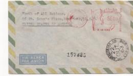 3083   Carta Aérea Certificada  Copacabana Expresso 1963 Brasil - Brasil