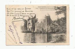 Cp , 56 , Château De TRECESSON , Environs De PLOËRMEL , Dos Simple , Voyagée 1902 - Other Municipalities