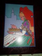 Carte Postale Illustrateur Patrick Hamm Galette Des Droits De L'homme 2000 - Hamm