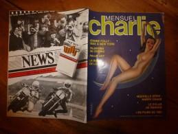 Janv 1983 CHARLIE MENSUEL :« Journal Plein D'humour Et De Bandes Dessinées, » Pin-Up ART Etc - Wolinski