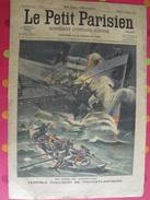Le Petit Parisien. N° 931. 1906. Rade Cherbourg Collision Transatlantique. Bateau De Pêche Envahi Par Des Pieuvres - Livres, BD, Revues