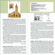 CATHÉDRALE DE OVIEDO - DOCUMENT INSTRUCTIF DE L´ÉMISSION DE TIMBRE ESPAGNE - España