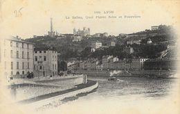 Lyon - La Saône - Quai  Pierre Scize Et Fourvière - Carte Précurseur N° 188 Non Circulée - Other
