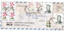 STORIA POSTALE - ARGENTINA - ANNO 1983 - SERVIZIO EMIGRATI ITALIANI IN ARGENTINA - REGISTERED 2468 - CERTIFICAD - BUENOS - Argentina