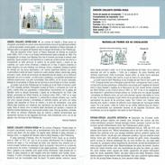 ISSUE JOINT ESPAGNE RUSSIE - PALACE ET ÉGLISE - DOCUMENT INSTRUCTIF DE L´ÉMISSION DE TIMBRE ESPAGNE - España
