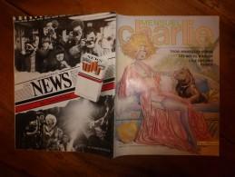 Avril 1983 CHARLIE MENSUEL :« Journal Plein D'humour Et De Bandes Dessinées, » Pin-Up  Etc - Wolinski