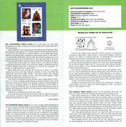 ART CONTEMPORAIN - MANOLO VALDES - DOCUMENT INSTRUCTIF DE L´ÉMISSION DE TIMBRE ESPAGNE - España