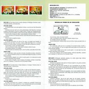 MICOLOGY - AMANITA - ENTOLOMA - CALOCYBE - DOCUMENT INSTRUCTIF DE L´ÉMISSION DE TIMBRE ESPAGNE - España