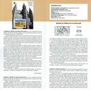 CATHÉDRALE DE PALMA DE MALLORCA - DOCUMENT INSTRUCTIF DE L´ÉMISSION DE TIMBRE ESPAGNE - España