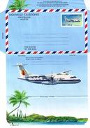 AEROGRAMME ATR 42, NOUVELLE CALEDONIE, 1996 - Aerogrammes