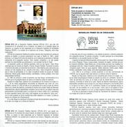Exposition Philatélique EXFILNA - CALAHORRA - DOCUMENT INSTRUCTIF DE L´ÉMISSION DE TIMBRE ESPAGNE - España