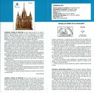 CATHÉDRALE DE BARCELONA - DOCUMENT INSTRUCTIF DE L´ÉMISSION DE TIMBRE ESPAGNE - España