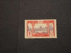 GABON - 1910 VEDUTE  45 C. - NUOVO(+) - Gabon (1960-...)