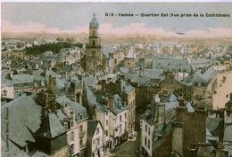 56 - VANNES - Quartier Est (vue Prise De La Cathédrale) - Vannes