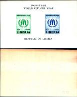 84370) Liberia-1977- Anno Mondiale Del Riffugiato -BF-15 - Nuovo - Liberia