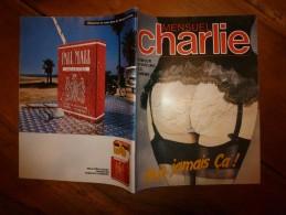 Mai 1983 CHARLIE MENSUEL :« Journal Plein D'humour Et De Bandes Dessinées, » - Wolinski