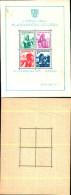 84375) Jugoslavia-1937-esposizione Filatelica Di Belgrado-costumi Regionali-Bf-n.1 Nuovo - Nuovi