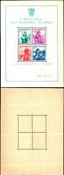 84376) Jugoslavia-1937-esposizione Filatelica Di Belgrado-costumi Regionali-Bf-n.1 Nuovo - Nuovi