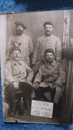 CPA PHOTO MILITAIRES SOLDATS SOUVENIR CAMPAGNE 1914 1915 GUERRE - Guerre 1914-18